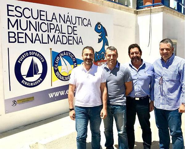 La Asociación de Clubes Náuticos de Andalucía estudia promover la implantación en la comunidad del Modelo de Escuela Náutica de Benalmádena