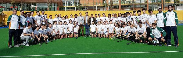 Cuatro jugadoras y tres jugadores del Club Hockey Benalmádena convocados con la Selección Andaluza Sub 16