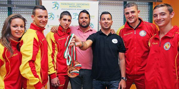 El Club de Taekwondo Medalla de Bronce del Campeonato Europeo.