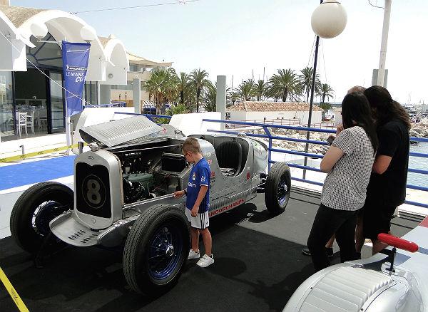 El Centro Náutico acogió el pasado fin de semana el evento '24 Hour Le Mans Lifestyle Experience'