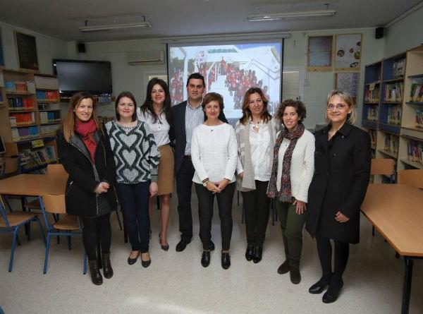 La Coordinadora del Instituto Andaluz de la Mujer visita el Colegio Jacaranda ...