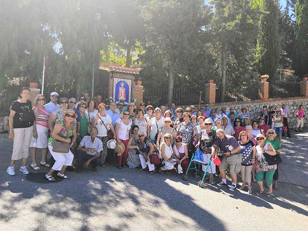 Los mayores de Benalmádena disfrutaron de una jornada de convivencia en Colmenar