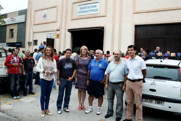 Arranca la primera fase del Plan Especial de Mejoras de Barriadas y Urbanizaciones con 130 trabajadores