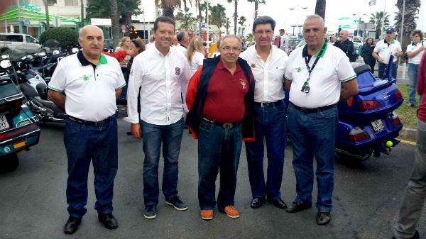 Benalmádena acoge la concentración motra Goldwing Andalucía 2014
