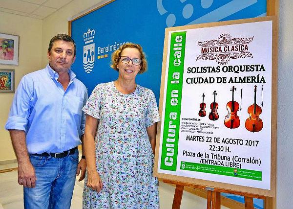 La música clásica inundará la Plaza de la Tribuna el próximo 22 de agosto
