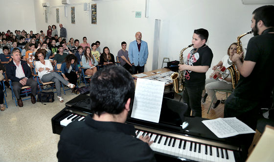 El Instituto 'Ibn Al-Baytar' celebra un concierto didáctico sobre el flamenco y el jazz