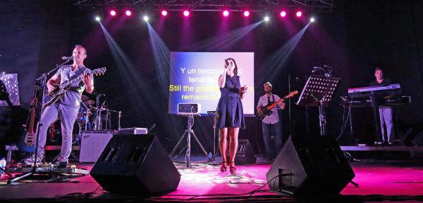 Benalmádena acoge el segundo concierto de Godspell de la Banda Grace