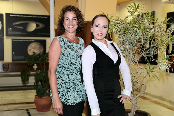 La Casa de la Cultura roza el lleno absoluto con el espectáculo musical de la joven bailaora Johana González