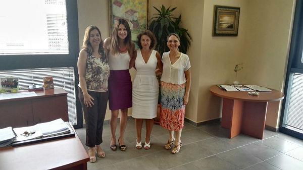 La Concejale Irene Díaz mantiene un encuentro de coordinación con la responsable del Instituto Andaluz de la Mujer en Málaga