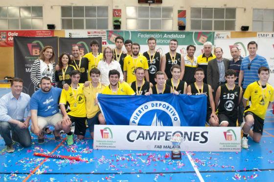 El Benalmádena se proclama campeón de la Copa Confederación de Baloncesto en categoría junior