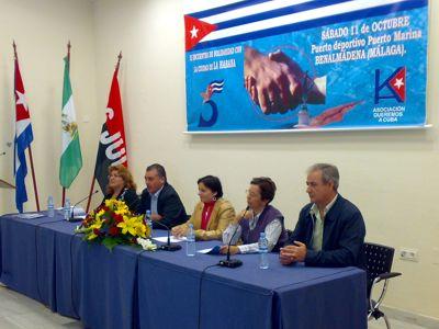 Encuentro de solidaridad con Cuba