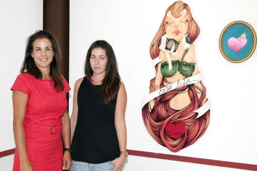 La Casa de la Cultura acoge la exposición de pintura 'Desde Dentro' de los artistas maite Arjona y Juan Sáchez