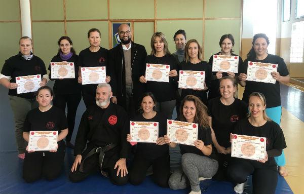 Finaliza con gran éxito de participación el I Curso de Defensa Personal para Mujeres