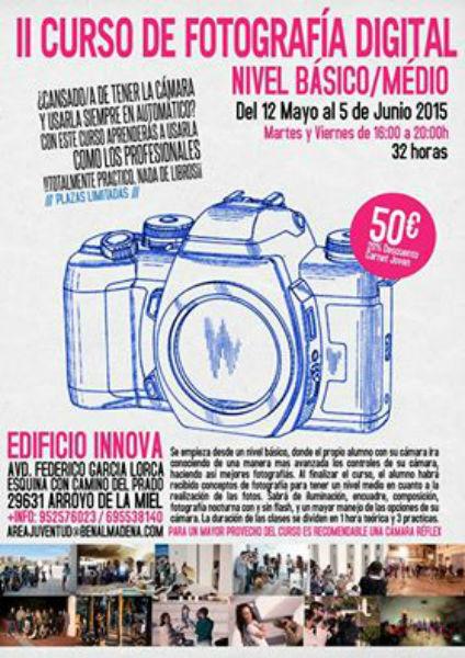 El Parque Innova acogerá en mayo un curso de fotografía para profesionales