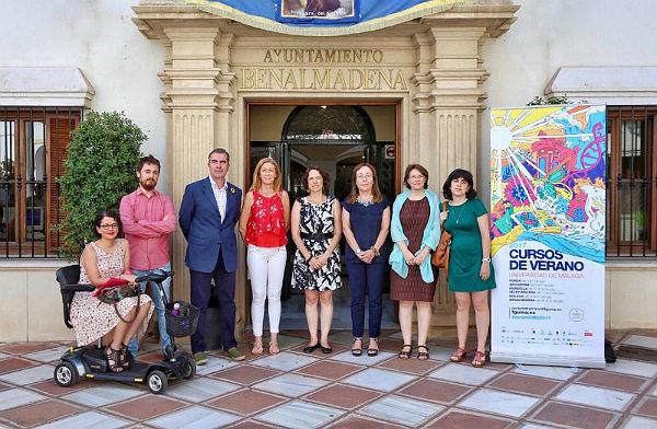 La Concejala Ana Scherman inaugura la Segunda Edición celebrada en Benalmádena de los Cursos de Verano de la UMA