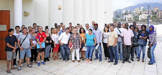 Francisco Salido presenta con Bancosol Alimentos los cursos ofrecidos por dicha entidad