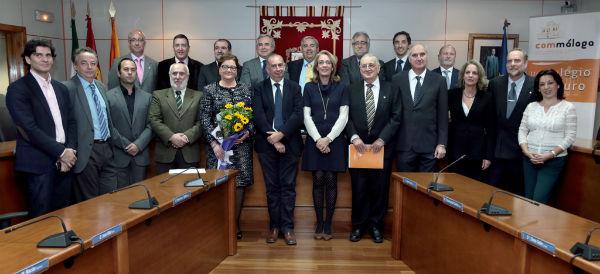 La alcaldesa preside la toma de posesión de la Junta Directiva que conformará la Delegación del Colegio de Médicos de Málaga en Benalmádena