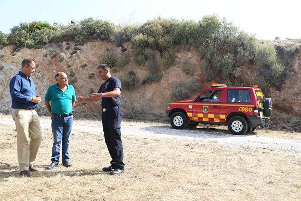 Concluyen los trabajos de desbroce y creación de una franja de seguridad contra incendios en Santangelo Norte