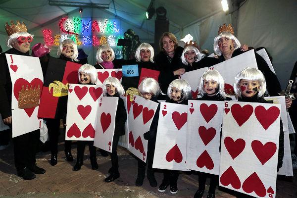 Más de 300 vecinos celebraron el Carnaval en Benalmádena Pueblo