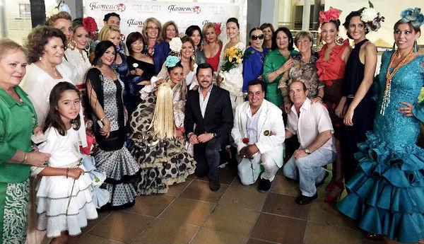 La alcaldesa asiste a la presentación de la nueva Colección de Flamenca de Charo Chacón