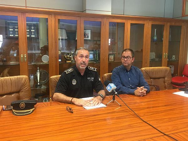 La Policía Local detiene a los presuntos autores de la última oleada de robos en comercios de Arroyo de la Miel