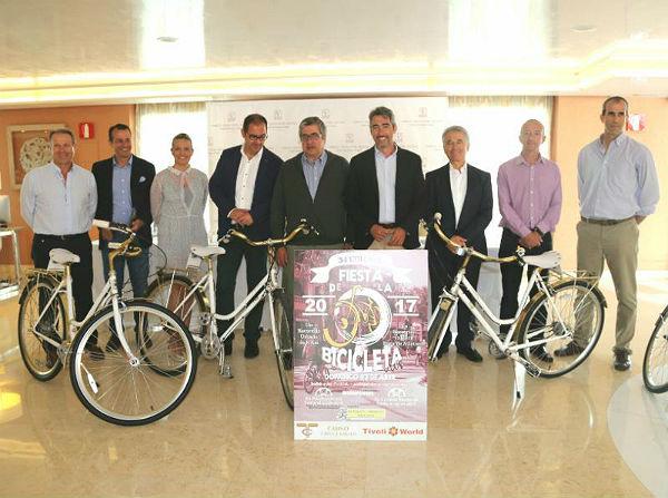 La 34º Edición de la Fiesta de la Bicicleta espera superar el millar de participantes