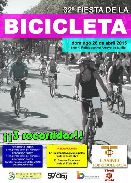 Benalmádena acogerá el próximo domingo la popular Fiesta de la Bicicleta
