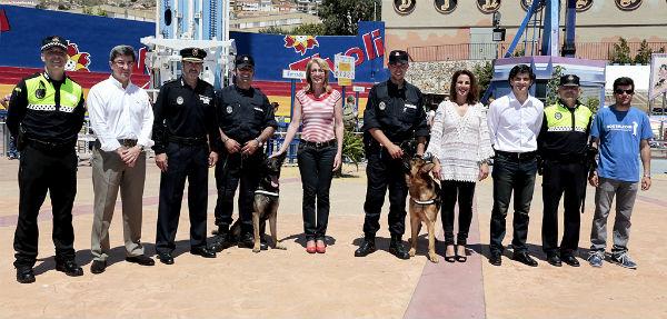 El Parque de Atracciones 'Tívoli World' celebra el día de la Policía Local con un gran éxito de participación