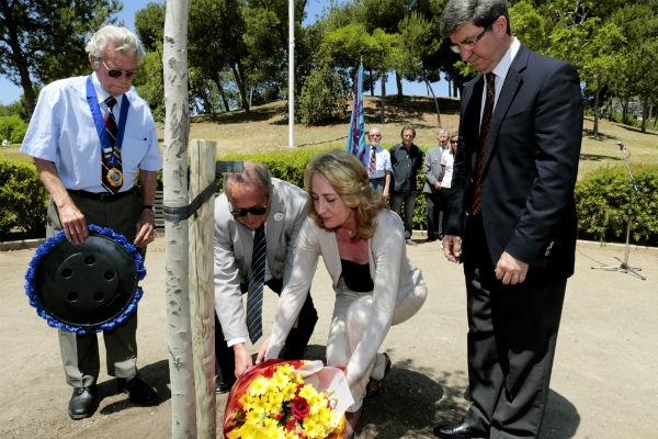 La alcaldesa preside el 'Día del Recuerdo' conmemoración del  fin de la Segunda Guerra Mundial