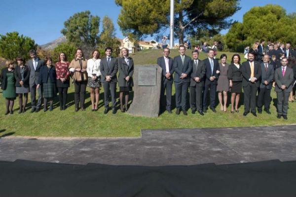 La alcaldesa aboga por 'aprender de la historia y mirar hacia el futuro con confianza' en el 35º Aniversario de la Constitución Española