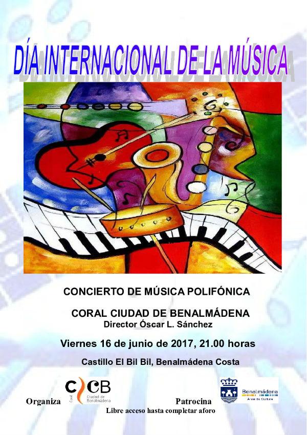 La Coral Ciudad de Benalmádena cierra su ciclo de primavera con un Concierto de Canciones Internacionales