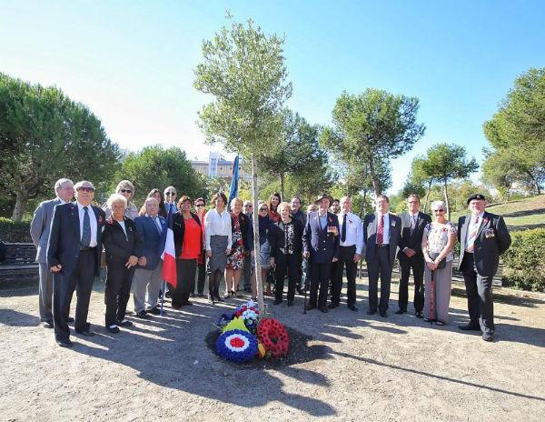 El Parque de la Paloma acoge la celebración del Día del Recuerdo