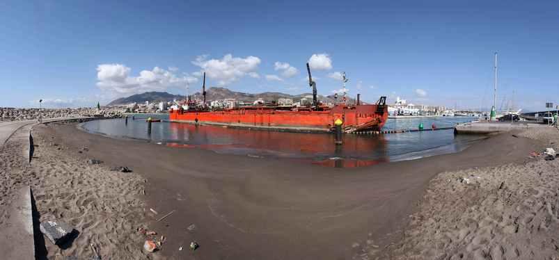 Finalizan los trabajos de dragado en el Puerto