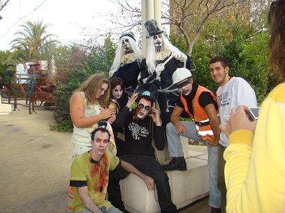Nuestro viaje a Isla Mágica en Halloween