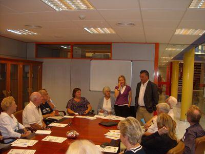 Asociaciones de Residentes Extranjeros se Reúnen con el Alcalde.