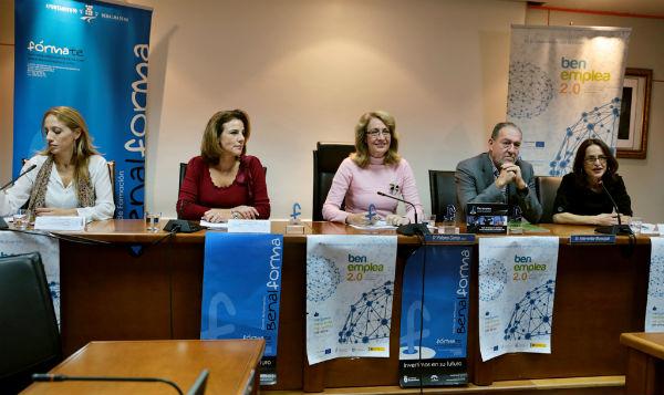 La alcaldesa preside el IV Encuentro Empresarial y la entrega de diplomas del proyecto Benemplea 2.0