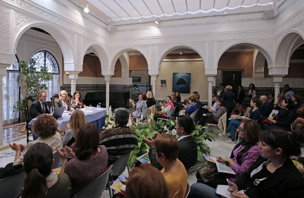 La alcaldesa inaugura el II encuentro familiar sobre 'Protección jurídica de las personas con discapacidad'