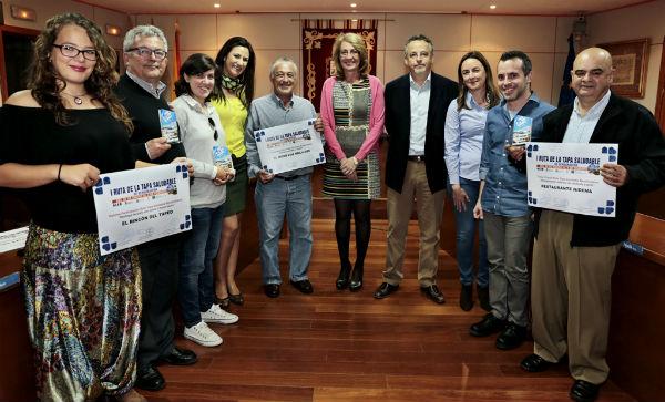 'El Mero-Los Mellizos' ganador de la I Ruta de la Tapa Saludable de Benalmádena,