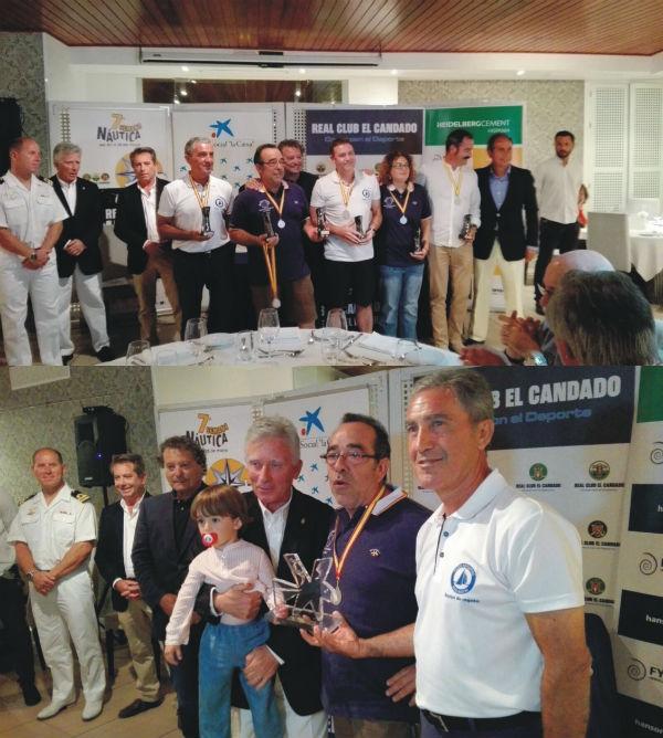 El Real Club Náutico El Candado reconoce la participación del equipo Paraocio de vela adaptada en la 40 Regata Mar de Alborán