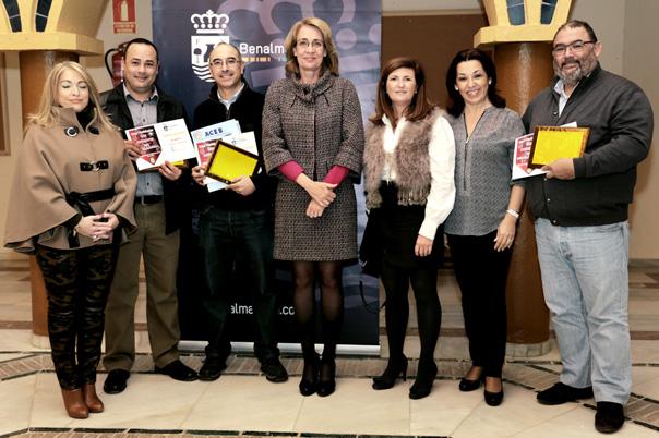 La Alcaldesa preside la entrega de premios del Concurso Navideño de Escaparates
