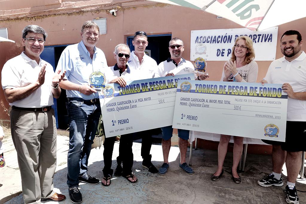 La embarcación 'Adaje' ganadora del VIII Torneo de Pesca de Fondo Laja Bermeja