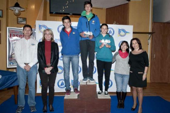 La alcaldesa preside la entrega de premios de la I Copa Láser, Stándard, Rafial y 4.7 de Andalucía