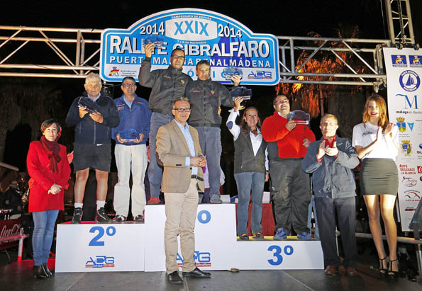 Gran éxito de organización y participación en el XXIX Rallye de Gibralfaro