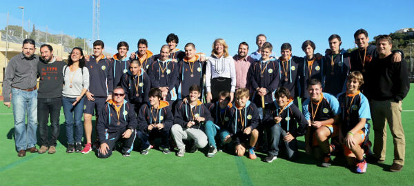 El C.H. Benalmádena se alza con el bronce en la XI Copa de España Juvenil Masculino de Hockey Hierba