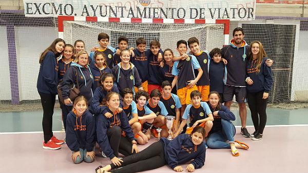 El Club Hockey Benalmádena, campeón de Andalucía infantil masculino de hockey sala