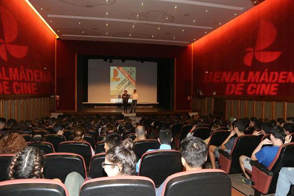 La Casa de la Cultura proyecta un pase especial con cortos del FICCAB para los alunmos de la localidad