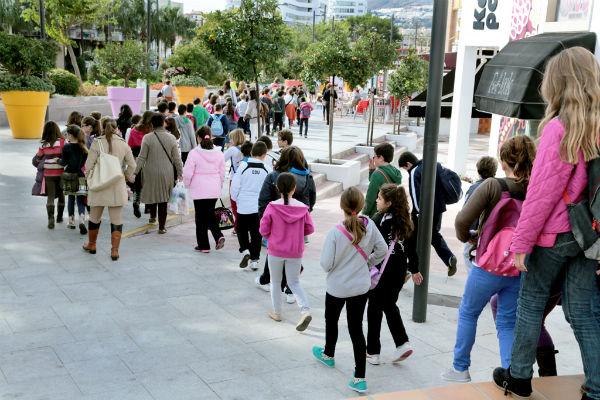 Más de 800 alumnos disfrutaran del programa municipal de educación 'La escuela va a al cine'