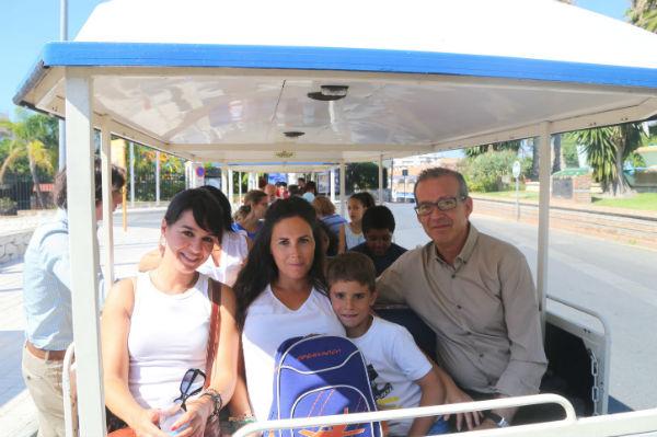 Comienzan las excursiones con los menores de las familias usuarias de la Delegación de Bienestar Social