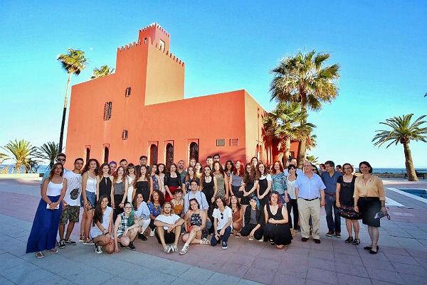 Inaugurada la exposición de los trabajos de alumnos de bachillerato de artes del IES Cerro del Viento