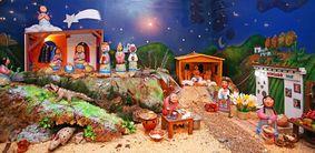 Mañana se inaugura el Belén Mexicano en el Museo de Arte Precolombino Felipe Orlando